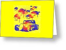 Rain Showers Greeting Card