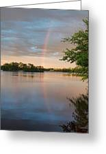 Rainbow After The Storm Greeting Card