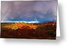 Rainbow Arch Greeting Card