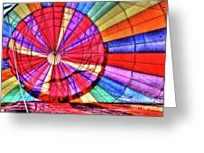 Rainbow Balloon Greeting Card