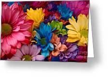 Rainbow Bouquet Greeting Card
