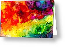 Rainbow Bubbles Greeting Card