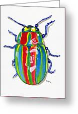 Rainbow Bug Greeting Card