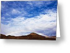 Rainbow Canyon Greeting Card