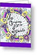 Rainbow Care Greeting Card
