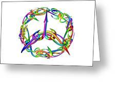 Rainbow Circle Greeting Card