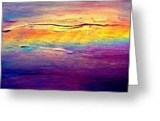 Rainbow Clouds Full Spectrum Greeting Card