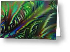 Rainbow Crystals Greeting Card
