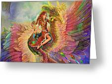 Rainbow Dragon Greeting Card