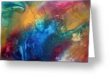 Rainbow Dreams II By Madart Greeting Card