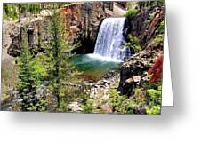 Rainbow Falls 1 Greeting Card