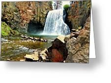 Rainbow Falls 2 Greeting Card