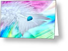 Rainbow Flight Greeting Card