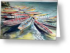 Rainbow Flotilla Greeting Card