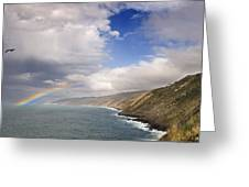 Rainbow From The Sea Greeting Card