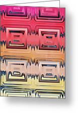 Rainbow Glass Greeting Card
