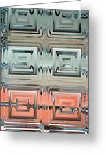 Rainbow Glass2 Greeting Card