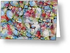 Rainbow Granite Greeting Card