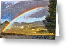 Rainbow - Id 16217-152046-6654 Greeting Card
