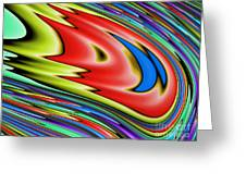 Rainbow In Abstract 04 Greeting Card