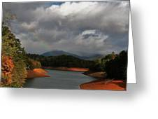 Rainbow In North Carolina Greeting Card