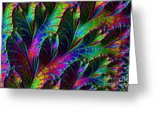 Rainbow Leaves Greeting Card