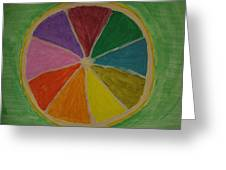 Rainbow Lemon Greeting Card