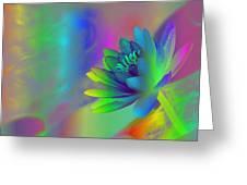 Rainbow Lily Greeting Card