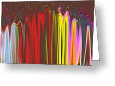 Rainbow Mountain  Greeting Card