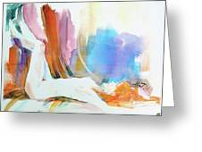 Rainbow Nude Greeting Card
