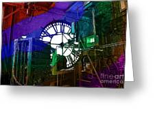 Rainbow Of Time Greeting Card