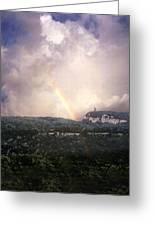 Rainbow Over Gunks Greeting Card