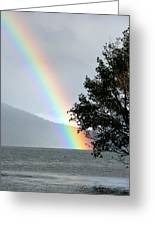 Rainbow Over Odell Greeting Card