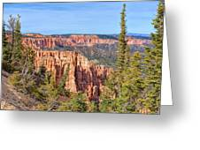Rainbow Point Overlook Greeting Card