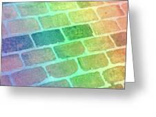 Rainbow Reflection  Greeting Card