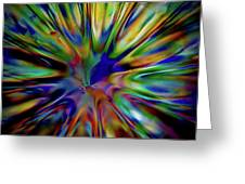 Rainbow Splash Greeting Card