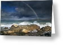 Rainbow To Heaven Shamrock Shores  Greeting Card