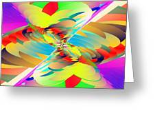 Rainbow Tornado Greeting Card