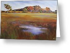 Rainbow Valley  Australia Greeting Card