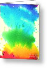 Rainbow Wash Greeting Card