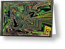 Rainbow World On A Clear Day Greeting Card
