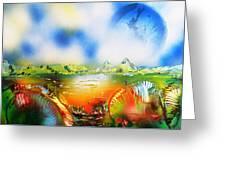 Rainbowland  Greeting Card