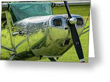 Raindrops On A Cessna - 2018 Christopher Buff, Www.aviationbuff. Greeting Card