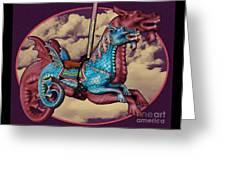 Rainey The Dragon-horse Greeting Card