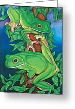 Rainforest Rendezvous Greeting Card