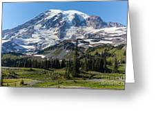 Rainier Mazama Ridge Greeting Card