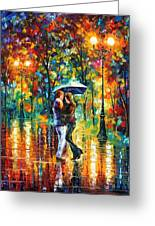 Rainy Dance Greeting Card
