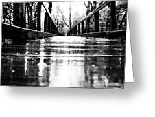 Take A Walk With Me In The Rain Greeting Card