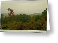 Rainy Day In White Creek Greeting Card