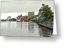 Rainy Day In Wilmington Greeting Card